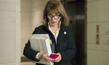 "Rep. Jackie Speier, D-Calif., said that many senior officers are ""not being held to the same standards as the rank and file."""