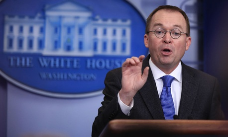 "Acting CFPB Director Mick Mulvaney said: ""We have committed to fulfill the bureau's statutory responsibilities, but go no further."""