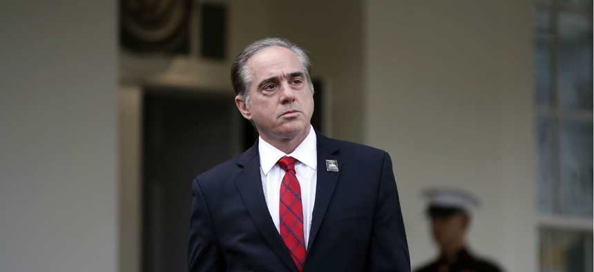VA Secretary David Shulkin at the White House in November.