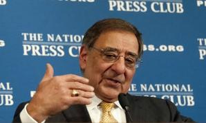 Then-Defense Secretary Leon Panetta at the National Press Club in 2012.