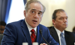 VA Secretary David Shulkin testifies before the House Veterans' Affairs Committee Thursday.