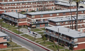 Pueblo Del Rio public housing in South Los Angeles.