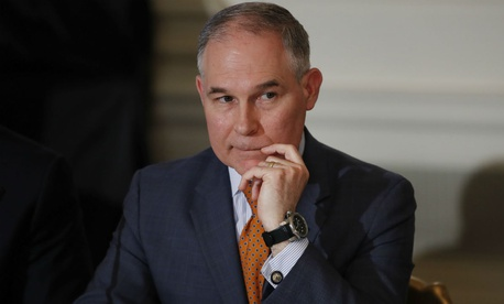 EPA Administrator Scott Pruitt has been reported to use private phones to avoid logs of his conversations, among other potential issues.