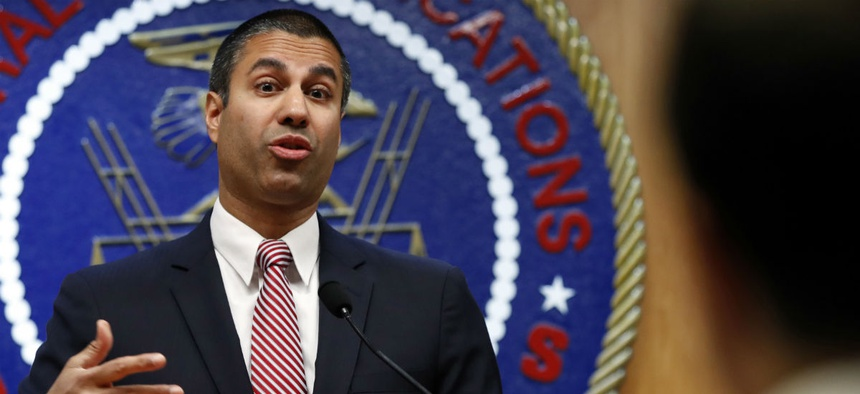 FCC Chairman Ajit Pai gave back a gift from the National Rifle Association when he was advised it did not meet ethics standards.