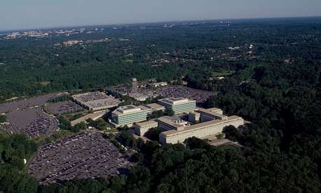CIA headquarters in Virginia