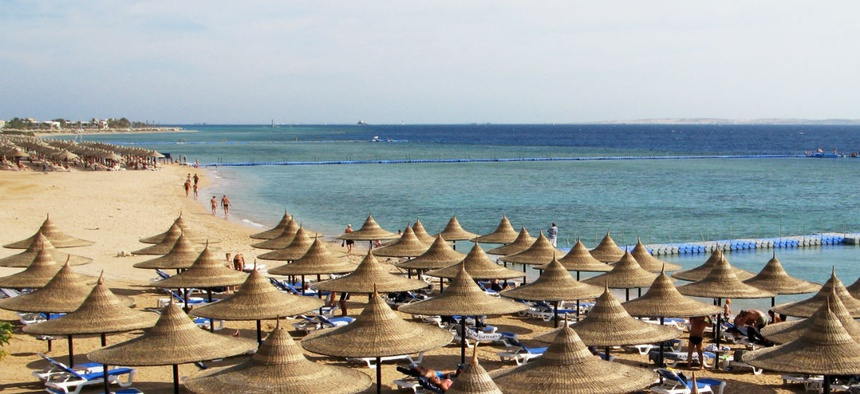 Federal employees are barred from traveling to some neighborhoods of Playa del Carmen, Mexico.