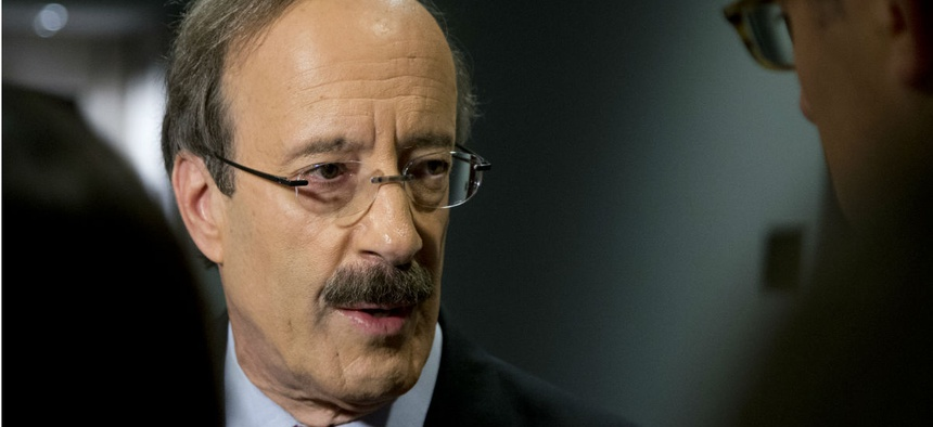 Rep. Eliot Engel, D-N.Y., shared the whistleblower warning with the Broadcasting Board of Governors.