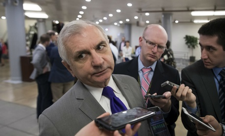 Sen. Jack Reed, D-R.I., said he was concerned debate about low-yield nuclear weapons could undermine existing bipartisan support for modernizing the triad.