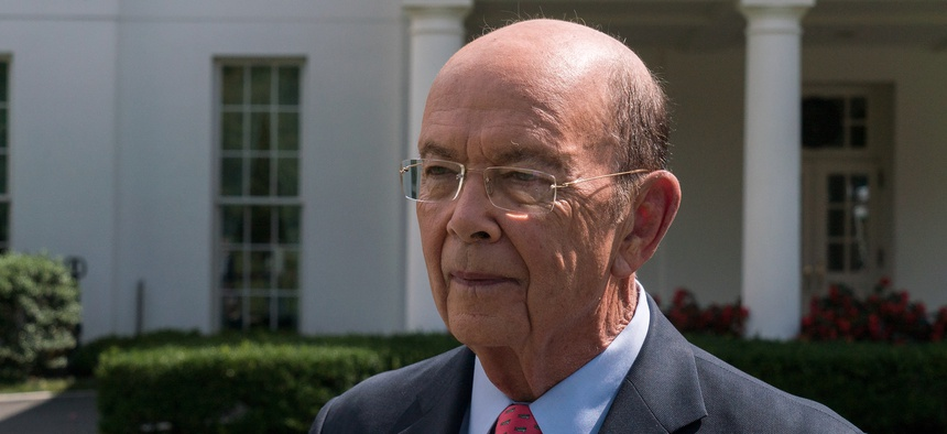"""Wilbur Ross wrote that he """"I considered all facts and data relevant to the question"""" before making a recommendation."""