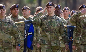 A key defense lawmaker is calling for the U.S. Army to assign one of its new Security Force Assistance Brigades, pictured here, to U.S. Africa Command.