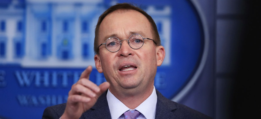 Acting CFPB Director Mick Mulvaney is simply paying non-career staff on par with career staff who report to them, the agency argued in a statement.