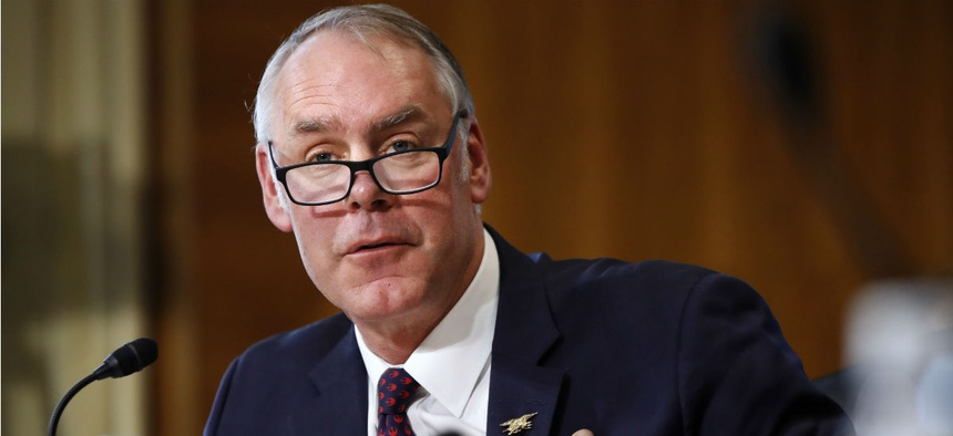 Interior Secretary Ryan Zinke reportedly said he did not care about diversity in hiring; Interior has denied the comments.