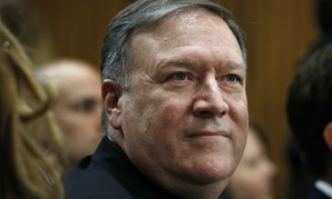 Mike Pompeo appears before the Senate Foreign Relations Committee for his confirmation hearing Thursday.