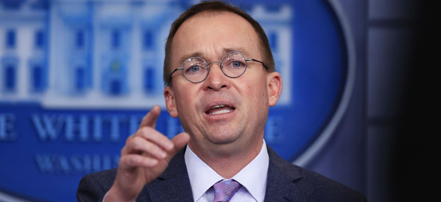 OMB Director Mick Mulvaney said he takes violations of the Anti-Deficiency Act very seriously.