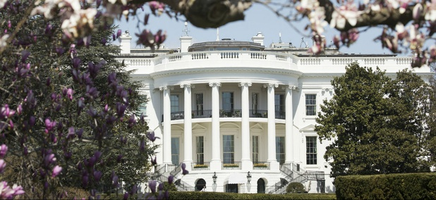 The White House on April 5.