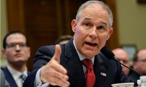 EPA Administrator Scott Pruitt testifies on Capitol Hill Thursday.