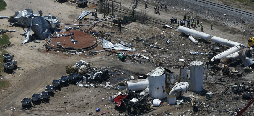 The Chemical Safety Board, which is on Trump's chopping block, investigated the 2013 fertilizer plant explosion in Texas.