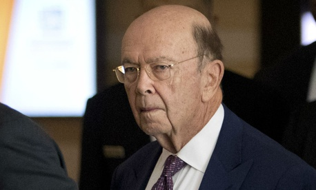 Commerce Secretary Wilbur Ross leaves his hotel in Beijing in early May.