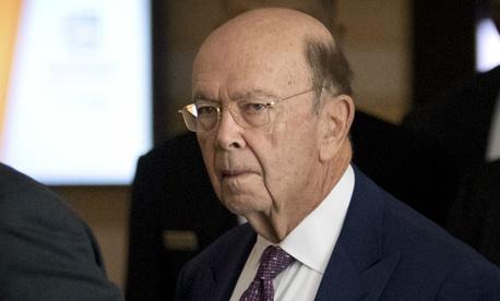 Commerce Secretary Wilbur Ross leaves his hotel in Beijing in early May.