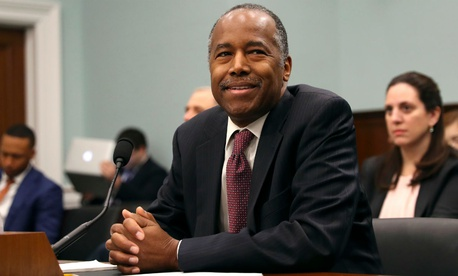 HUD Secretary Ben Carson testifies on Capitol Hill in March.