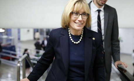 "Sen. Maggie Hassan, D-N.H., said: ""If the tone isn't set correctly at the top, it's difficult for the public to have trust."""