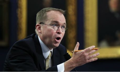 OMB Director Mick Mulvaney told lawmakers in letters that long-term fiscal constraints necessitated lower spending.