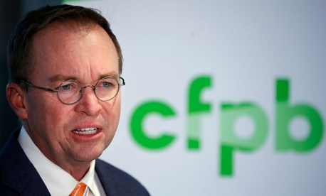 Acting CFPB Director Mick Mulvaney