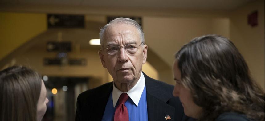 Senate Judiciary Committee Chairman Chuck Grassley.