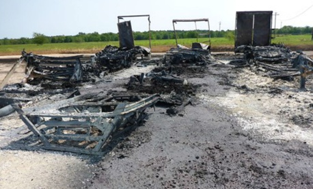 The Chemical Safety Board investigated fires at the Arkema facility in Crosby, Texas.