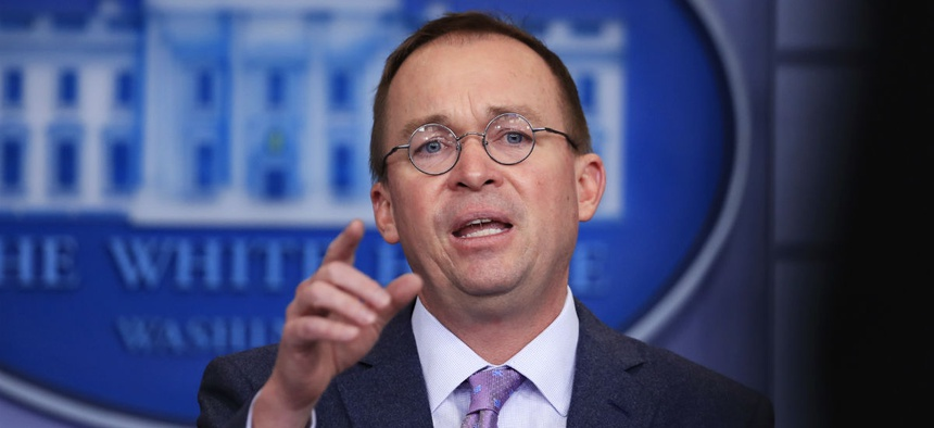 Acting CFPB Director Mick Mulvaney could stay on in the post longer than the Vacancies Act limit if there is a nominee for the permanent job.