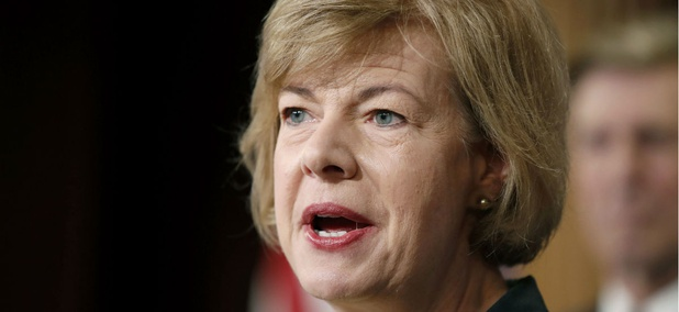 Sen. Tammy Baldwin, D-Wis., is one of four Democratic lawmakers calling for an investigation into VA's implementation of a law aimed at reforming the department.
