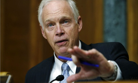 Sen. Ron Johnson, R-Wis., blames CMS for flawed audits, but stirs politics by faulting Obamacare.