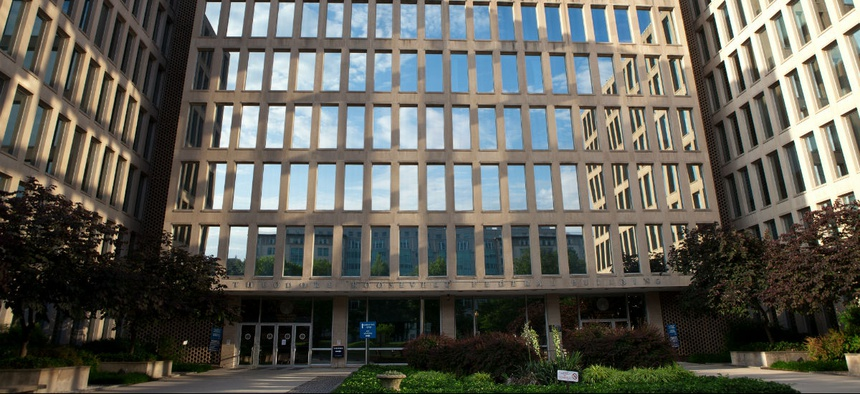 Office of Personnel Management headquarters.