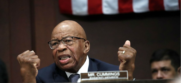 Elijah Cummings, D-Md., says administration officials may have violated the 1978 Civil Service Reform Act.