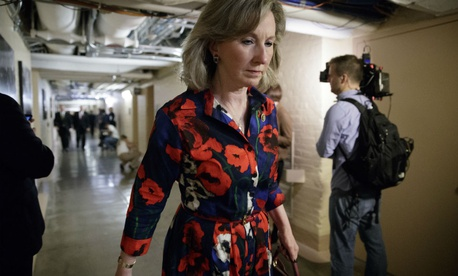 Rep. Barbara Comstock, R-Va., introduced the paid leave bill.