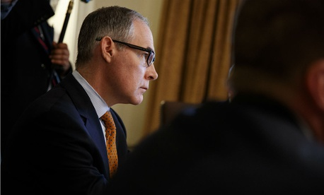 Embattled EPA Administrator Scott Pruitt resigned Thursday.