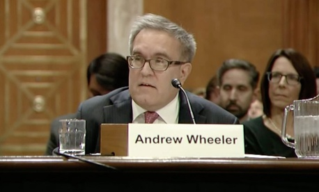 Wheeler testifies before the Senate.