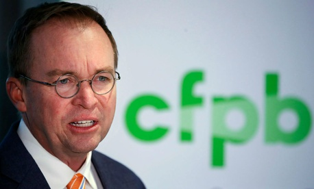 Deputy had challenged the appointment of OMB Director Mick Mulvaney as acting CFPB head.