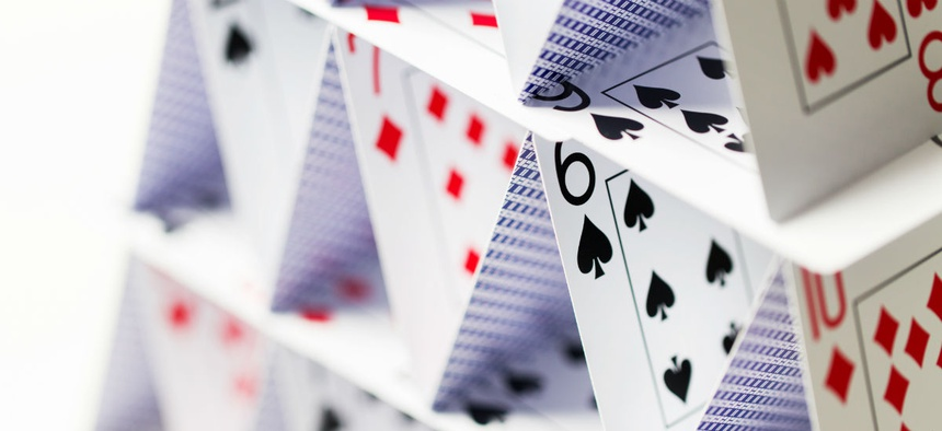 The Pay Gap Analysis is a House of Cards - Government Executive