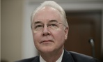 Former HHS Secretary Tom Price testifies on Capitol Hill in 2017.
