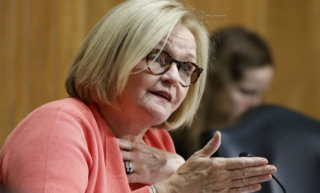 """I just want to stress to you, trust us if you want us to trust you,"" said Sen. Claire McCaskill, D-Mo."