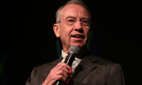 Sen. Charles Grassley, R-Iowa, had decided to delay a vote on the nominee.