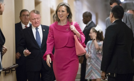 Rep. Barbara Comstock, R-Va., introduced a bill offering 12 weeks of paid leave.