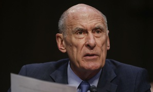 Director of National Intelligence Dan Coats testifies before the Senate Armed Services Committee in March.
