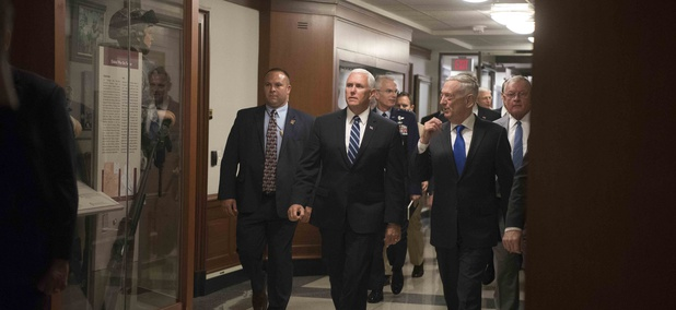 Vice President Mike Pence announced the Pentagon's detailed plan for President Donald Trump's vision of a Space Force on Thursday, which would establish the first military branch in over 70 years.