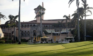 The three businessmen accused of improperly influencing policy belong to President Trump's Mar-a-Lago resort in Florida.