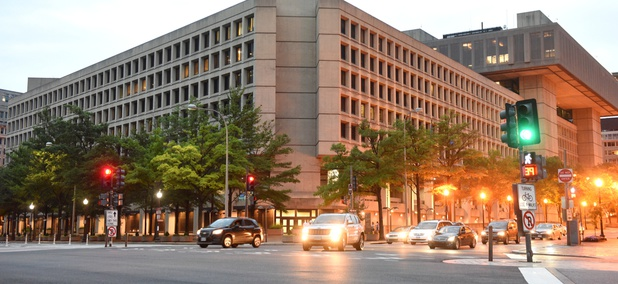 FBI headquarters in Washington.