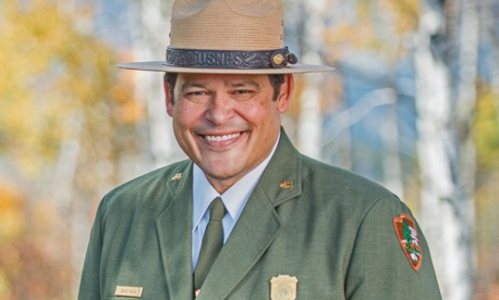 Raymond Vela is currently superintendent of Grand Teton National Park in Wyoming.