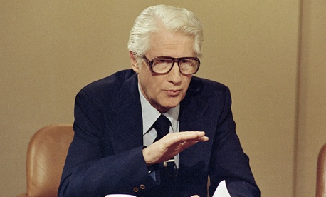 Mark Felt speaks in Washington in April 1978.