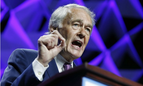 Sen. Ed Markey, D-Mass., was one senator who asked FLRA to back off its plan.